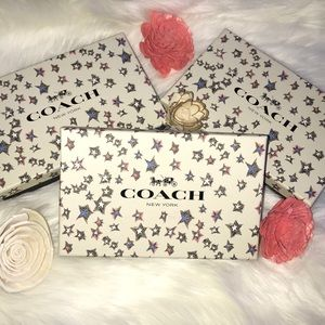Coach wallet boxes